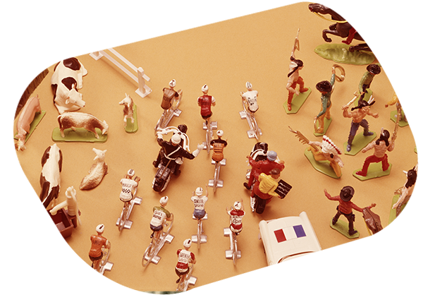 KIM'PLAY - Figurines plastique
